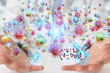 Many Bioremediation Microbes graphic