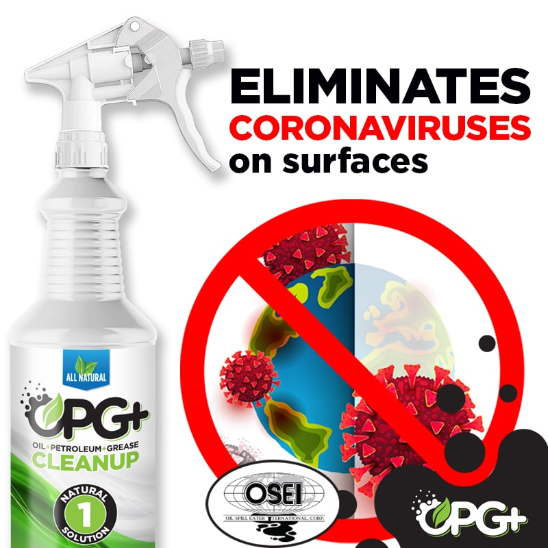 OPG+ Eliminates coronaviruses on surfaces