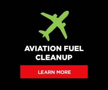 Aviation Fuel Cleanup button graphic