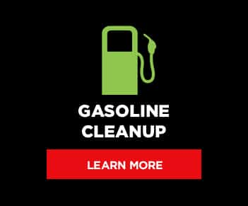Gasoline Cleanup button graphic